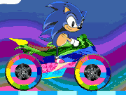 Sonic The Hedgehog Biker